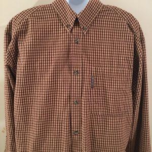 Columbia shirt 100%cotton